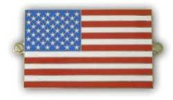 metalen vlag america / usa