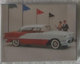 koelkastmagneet american car