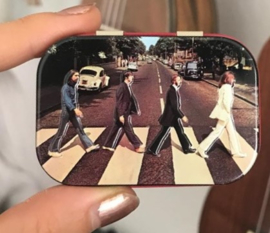 metalen pepermuntdoosje beatles abbey road NA 81374