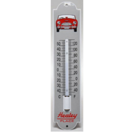 emaille thermometer austin healey
