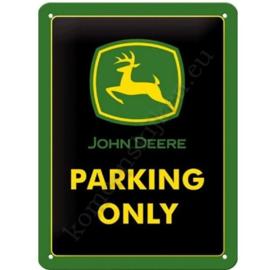 metalen wandplaat deere parking 15-20 cm