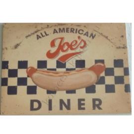 metalen wandplaat all american joe's 30-40 cm