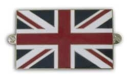 metalen britse / united kingdom vlag