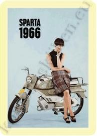 blikken reclame sparta 1966 20-30 cm
