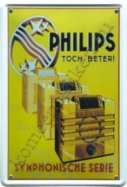 metalen reclamebord Philips toch beter 30-40 cm