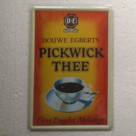 metalen wandbord Pickwick thee 20x30 cm