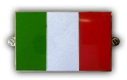 metalen italiaanse vlag
