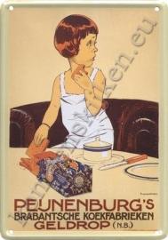 blikken reclamebord Peijnenburg ontbijtkoek 20-30 cm