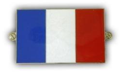 metalen franse vlag