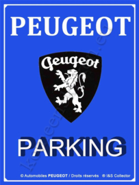 koelkast magneet peugeot parking