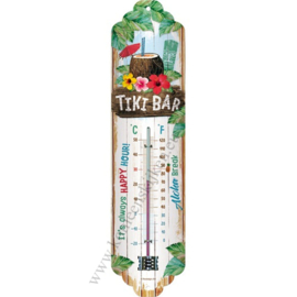 metalen thermometer Tiki bar