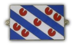 metalen friese vlag