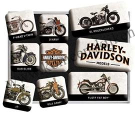 magneetset Harley-Davidson model chart