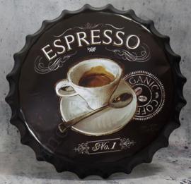 blikken kroonkurk espresso 40 cm