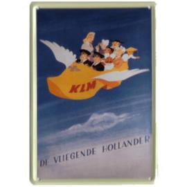blikken reclame bord KLM vliegende hollander 20-30 cm