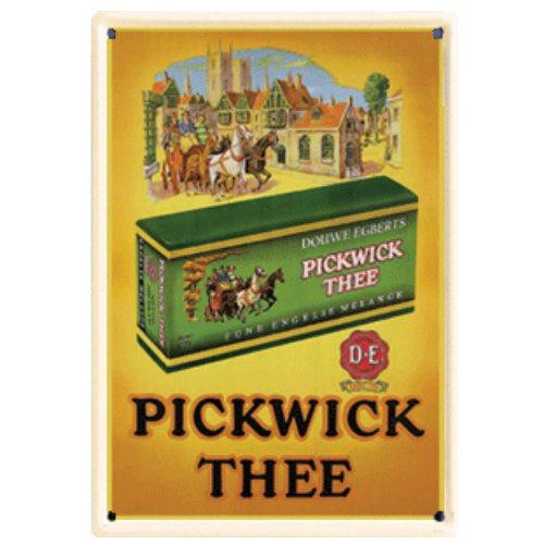 blikken reclame pickwick koets 20x30 cm