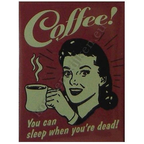 koelkast magneet koffie / coffee