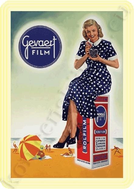blikken reclame Gevaert film 20-30 cm