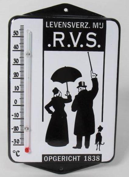 emaille thermometer RVS verzekeringen