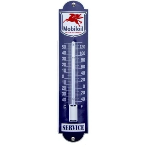 emaille thermometer mobil oil