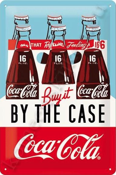 wandbord Coca-Cola Buy it by the case 20-30 cm