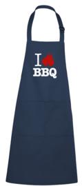 BBQ- schort - I love BBQ