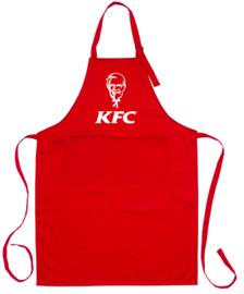 Special - schort rood - KFC