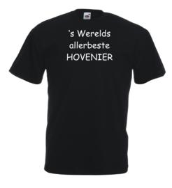 T-shirt zwart Hovenier