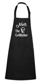 BBQ- schort - The Grillfather - Corleone - met naam