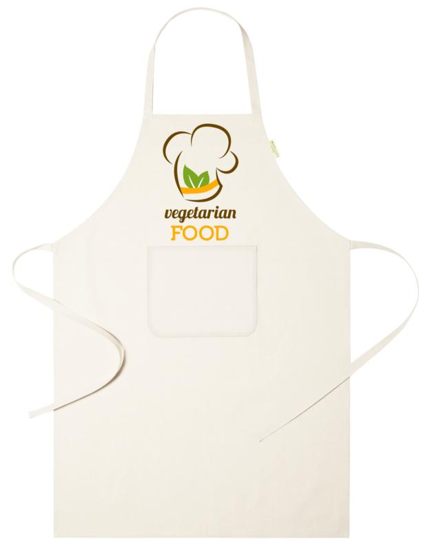 Keukenschort - Vegetarian Food