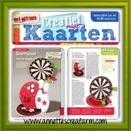 "PDF - of ""Studio"" snijbestanden © AHDK2014 - Sport kaart Dart & Bowling - Sport Card Dart & Bowling"