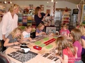 Kinderfeestje 28-4-2010