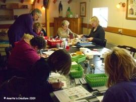 Copic workshop bij Camping Tessplekke 7-11-2009