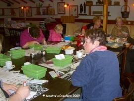 Copic workshop bij Camping Tesseplekke 7-11-2009