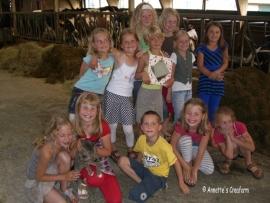 Kinderfeestje 26-6-2009
