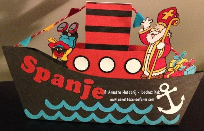 Creatief met kaarten nr.45 - ©AHDK 2014 - Stoomboot en Zeilboot