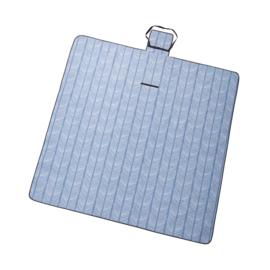 picknickkleed sketch blue XL, 200 x 200 cm