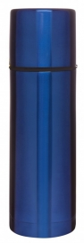 thermosfles blauw