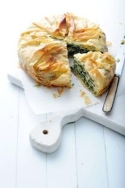 spinach-feta pie