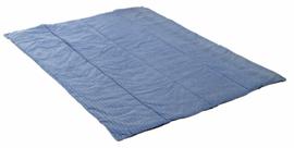 picknickkleed blue dolphin SUPERSOFT, 135 x 175 cm