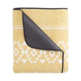 picknickkleed aztec yellow XL, 200 x 200 cm