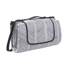 picknickkleed sketch grey XL, 200 x 200 cm