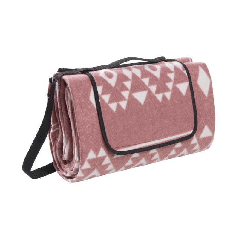 picknickkleed aztec pink XL, 200 x 200 cm