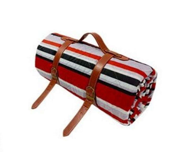 picknickkleed geo stripes XL, 200 x 200 cm