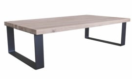 Oakly Table grey coffeetable metal leg KD