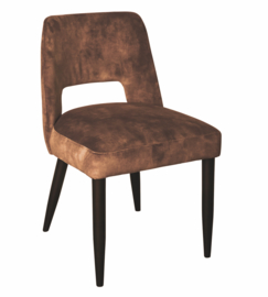 Jip dining chair no arm wood Adore 28 PTMD Collection