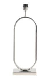Lampvoet 21x13x55 cm JAMIRI nikkel