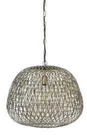 Hanglamp Ø50x44 cm ALWINA antiek brons
