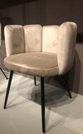 High Five Velvet Chair Sand
