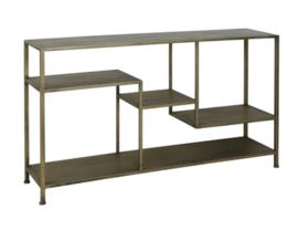Side table 141x37x81 cm YVANA antiek goud